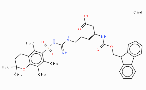 Fmoc-L-beta-homoarginine(Pmc)