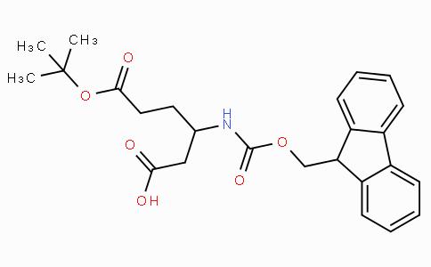 Fmoc-D-beta-homoglutamic acid(OtBu)