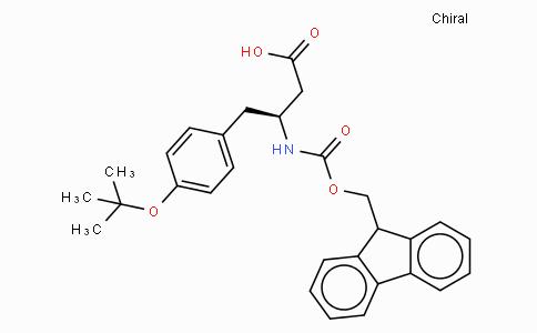 Fmoc-D-beta-homotyrosine(OtBu)
