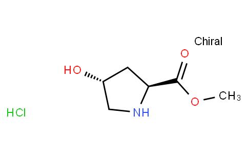 (2S,4R)-methyl 4-hydroxypyrrolidine-2-carboxylate hydrochloride