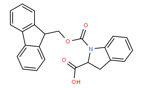 1-(((9H-Fluoren-9-yl)methoxy)carbonyl)indoline-2-carboxylic acid