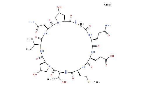 (Hyp474477,Gln479)-cyclo-α-Fetoprotein (471-479) (human, lowland gorilla)
