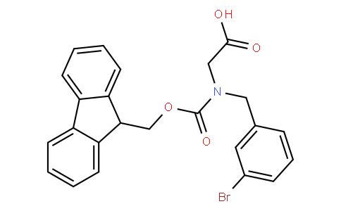 N-Fmoc-3-bromobenzyl-glycine