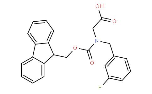 N-Fmoc-3-fluorobenzyl-glycine