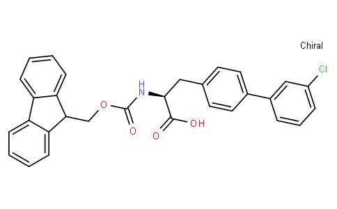 N-Fmoc-4-(3-chlorophenyl)-L-phenylalanine