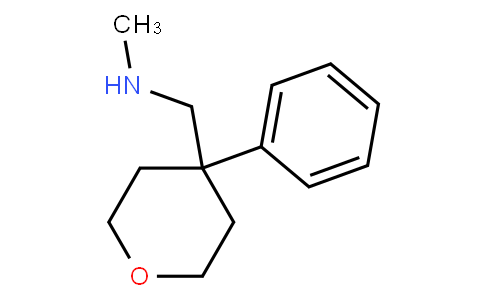N-Methyl-1-(4-phenyl-tetrahydropyran-4-yl)methanamine
