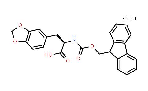 (2R)-3-(1,3-benzodioxol-5-yl)-2-(9H-fluoren-9-ylmethoxycarbonylamino)propanoic acid