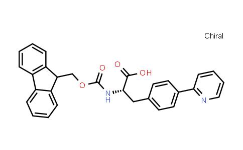 (2S)-2-(9H-Fluoren-9-ylmethoxycarbonylamino)-3-(4-pyridin-2-ylphenyl)propanoic acid