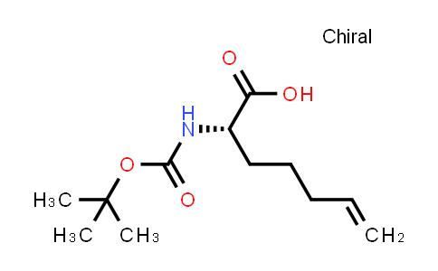 (2S)-2-(Boc-amino)-6-heptenoic acid
