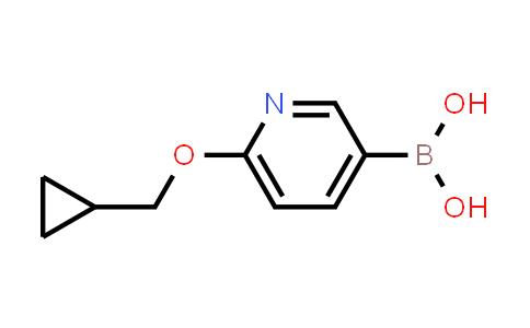 (6-(Cyclopropylmethoxy)pyridin-3-yl)boronic acid