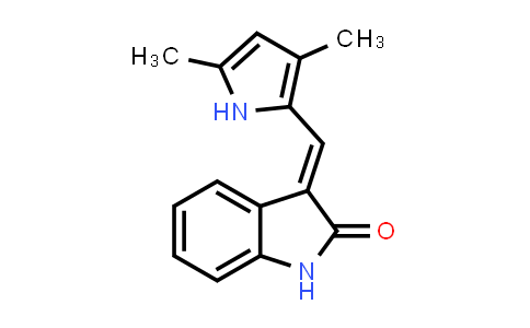 (E)-3-((3,5-dimethyl-1H-pyrrol-2-yl)methylene)indolin-2-one