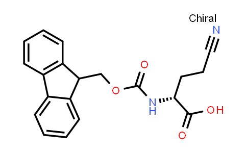 (R)-2-((((9H-Fluoren-9-yl)methoxy)carbonyl)amino)-4-cyanobutanoic acid