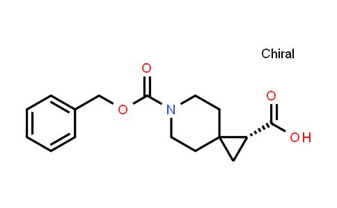 (R)-6-(benzyloxycarbonyl)-6-azaspiro(2.5)octane-1-carboxylic