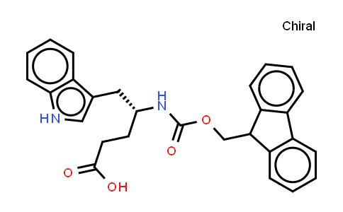 (R)-Fmoc-4-amino-5-(3-indolyl)pentanoic acid