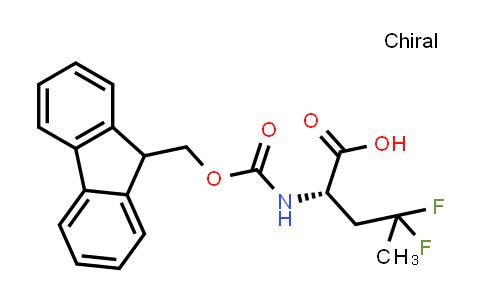 (2S)-2-({[(9H-fluoren-9-yl)methoxy]carbonyl}amino)-4,4-difluoropentanoic acid