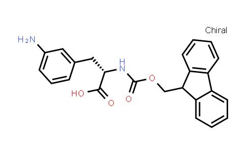 (2S)-3-(3-aminophenyl)-2-({[(9H-fluoren-9-yl)methoxy]carbonyl}amino)propanoic acid