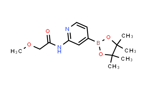 2-(2-Methoxyacetamido)pyridine-4-boronic acid pinacol ester