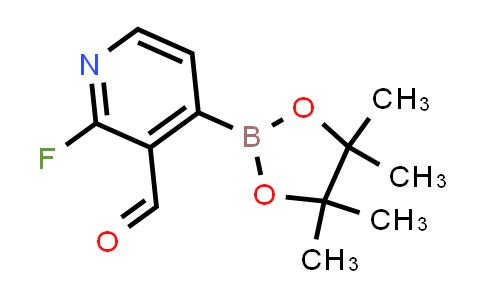 2-Fluoro-3-formylpyridine-4-boronic acid pinacol ester