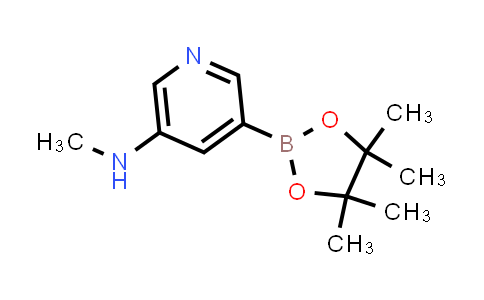5-(Methylamino)pyridine-3-boronic acid pinacol ester