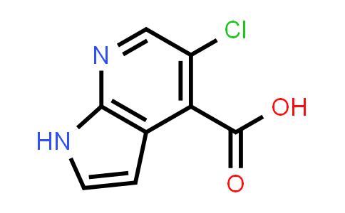 5-Chloro-1H-pyrrolo(2,3-b)pyridine-4-carboxylic acid