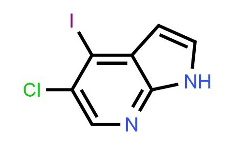 5-Chloro-4-iodo-1H-pyrrolo(2,3-b)pyridine