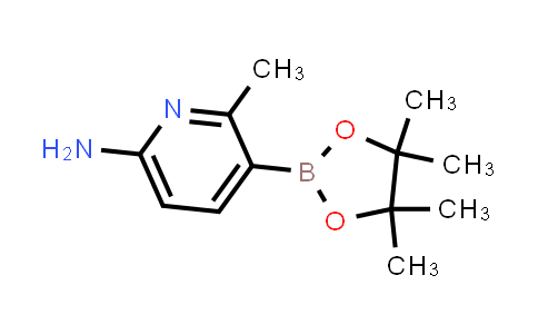 6-Amino-2-methylpyridine-3-boronic acid pinacol ester
