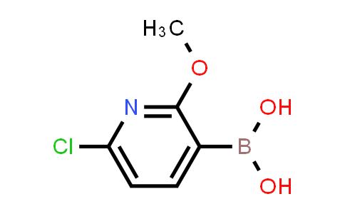 6-Chloro-2-methoxypyridine-3-boronic acid