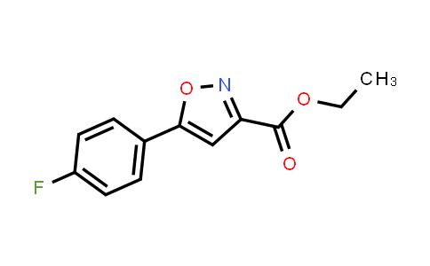 Ethyl 5-(4-fluorophenyl)isoxazole-3-carboxylate