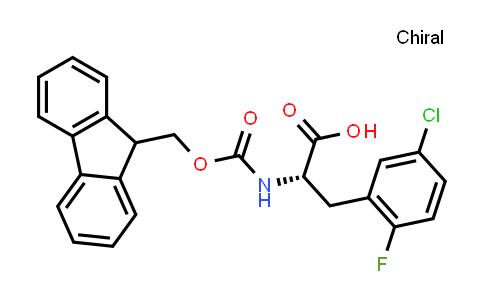 (S)-2-((((9H-fluoren-9-yl)methoxy)carbonyl)amino)-3-(5-chloro-2-fluorophenyl)propanoic acid