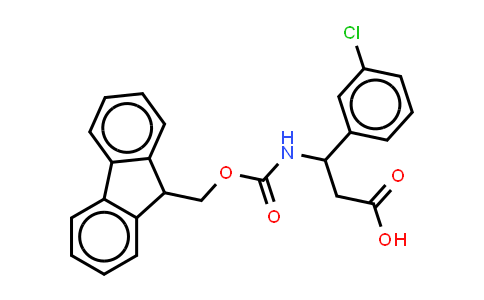 Fmoc-(RS)-β-Phe(3-Cl)-OH