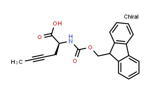 Fmoc-(S)-2-aminohex-4-ynoic acid