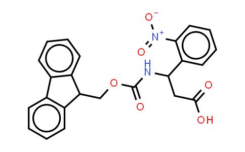 Fmoc-3-amino-3-(2-nitro-penyl)-propionic acid