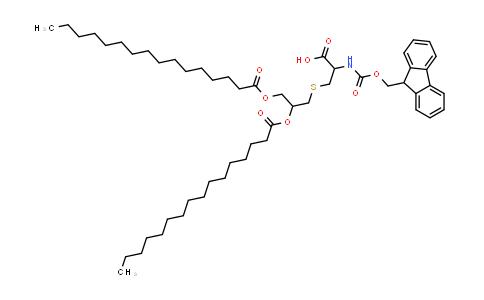 Fmoc-Cys(Pam)2-OH (R)