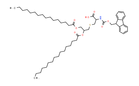 Fmoc-Cys(Pam)2-OH(S)