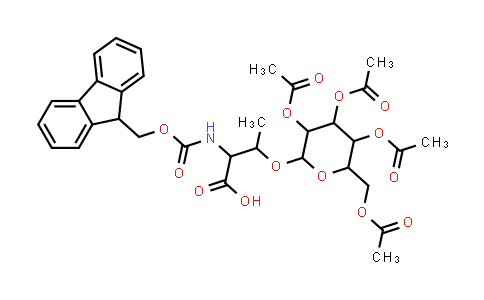 Fmoc-L-Thr(β-D-Gal(Ac)4)-OH