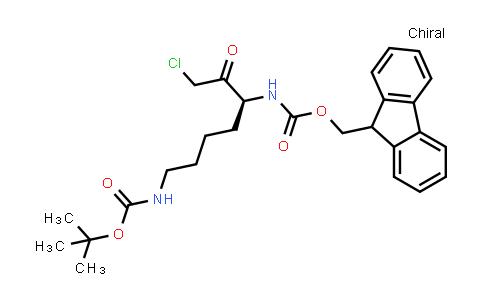 Fmoc-Lys(Boc)-COCH2Cl