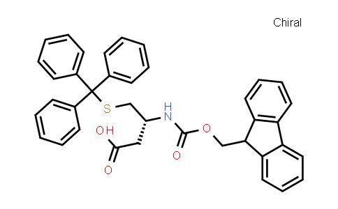 Fmoc-β-HomoCys(Trt)-OH