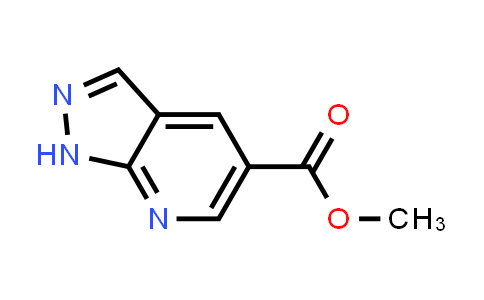 Methyl 1H-pyrazolo(3,4-b)pyridine-5-carboxylate