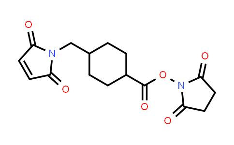 2,5-Dioxopyrrolidin-1-yl 4-((2,5-dioxo-2,5-dihydro-1H-pyrrol-1-yl)methyl)cyclohexanecarboxylate