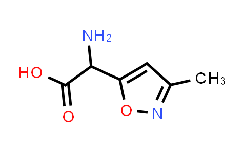 2-Amino-2-(3-methylisoxazol-5-yl)acetic acid