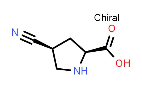 (2S,4S)-4-Cyanopyrrolidine-2-carboxylic acid