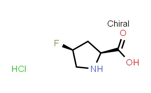 (2S,4S)-4-Fluoropyrrolidine-2-carboxylic acid hydrochloride