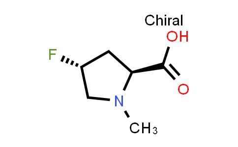 (2S,4R)-4-Fluoro-1-methylpyrrolidine-2-carboxylic acid