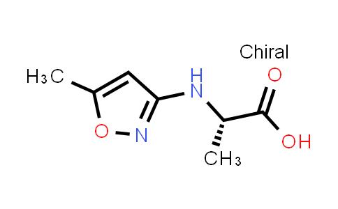 (S)-2-((5-Methylisoxazol-3-yl)amino)propanoic acid