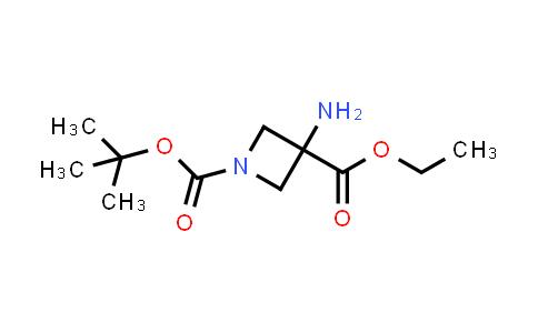 1-tert-Butyl 3-ethyl 3-aminoazetidine-1,3-dicarboxylate