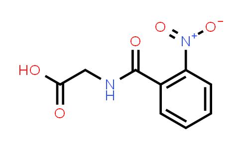2-(2-Nitrobenzamido)acetic acid