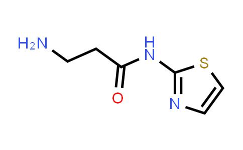 3-Amino-N-(thiazol-2-yl)propanamide
