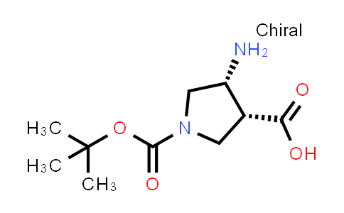 (3R,4R)-rel-4-Amino-1-(tert-butoxycarbonyl)pyrrolidine-3-carboxylic acid