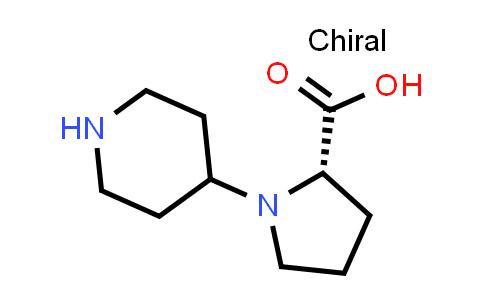 (S)-1-(Piperidin-4-yl)pyrrolidine-2-carboxylic acid