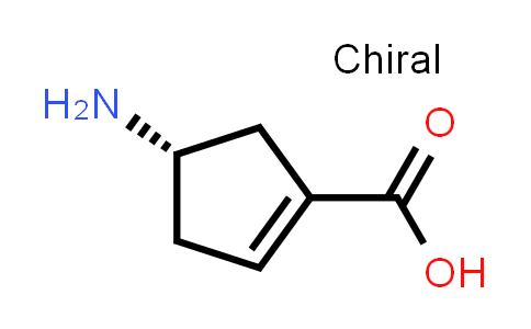 (S)-4-Aminocyclopent-1-enecarboxylic acid